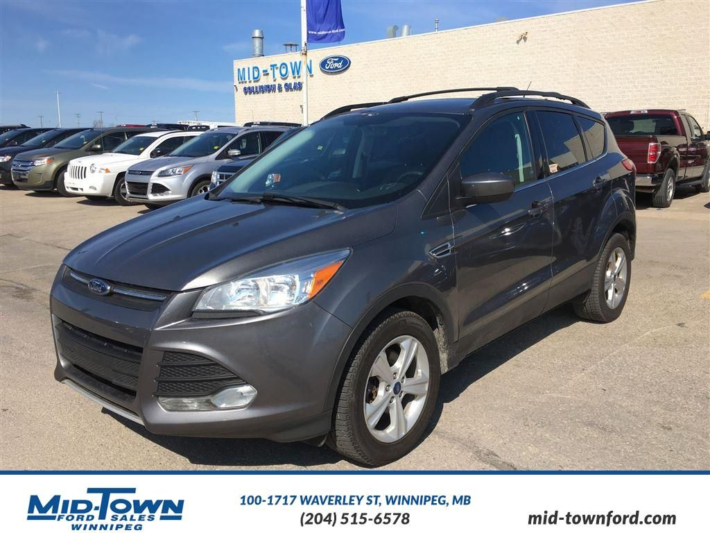 pre owned 2013 ford escape 4wd 4dr se 4 door sport utility in winnipeg 4149 mid town ford. Black Bedroom Furniture Sets. Home Design Ideas