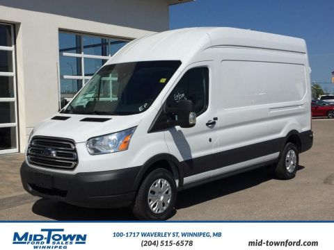 new 2016 ford transit cargo van full size cargo van in winnipeg 16r2c09 mid town ford. Black Bedroom Furniture Sets. Home Design Ideas